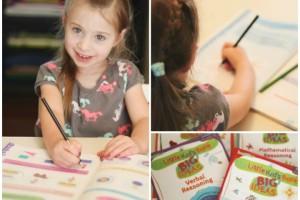 Kindergarten prep with Inquisitive Verbal Reasoning workbook