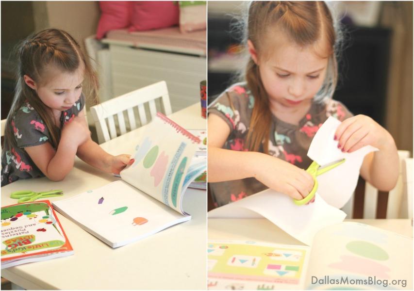 Kindergarten prep with inquisitive workbook