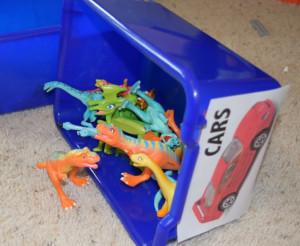 Dinosaurs in Wrong Bin