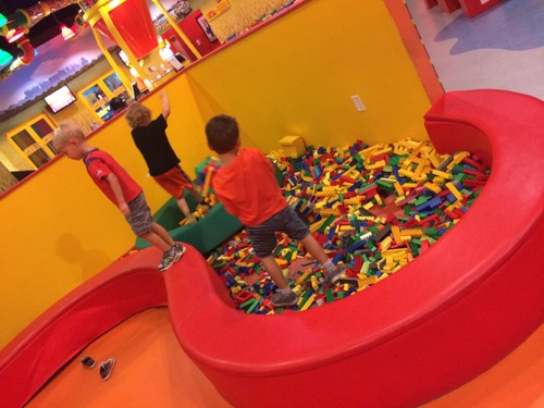 I am done with birthday parties - my son at LEGOLAND with his friends for his birthday