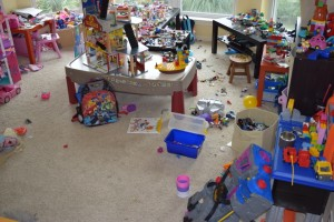 Messy Playroom Picture