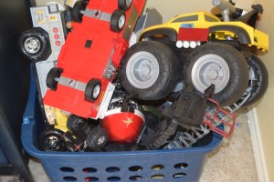The truck bin