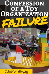 Toy organization failure