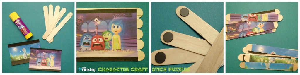 Character Craft Stick Puzzles DallasMomsBlog