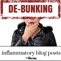 De-bunking inflammatory blog posts | Dallas Moms Blog