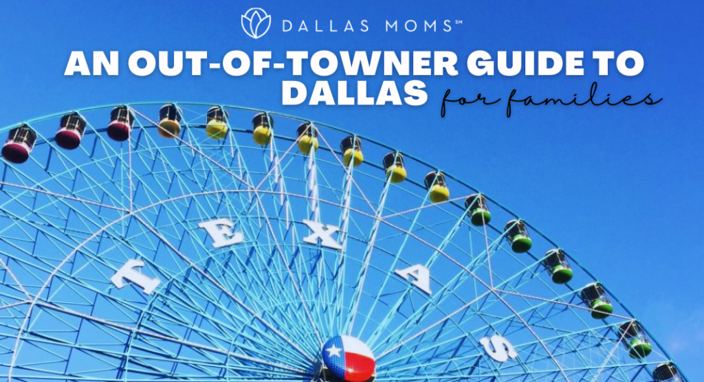 visitors guide to Dallas things to do in Dallas with kids