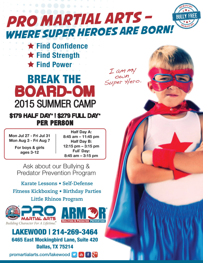 Lakewood - Superhero - Summer Camp