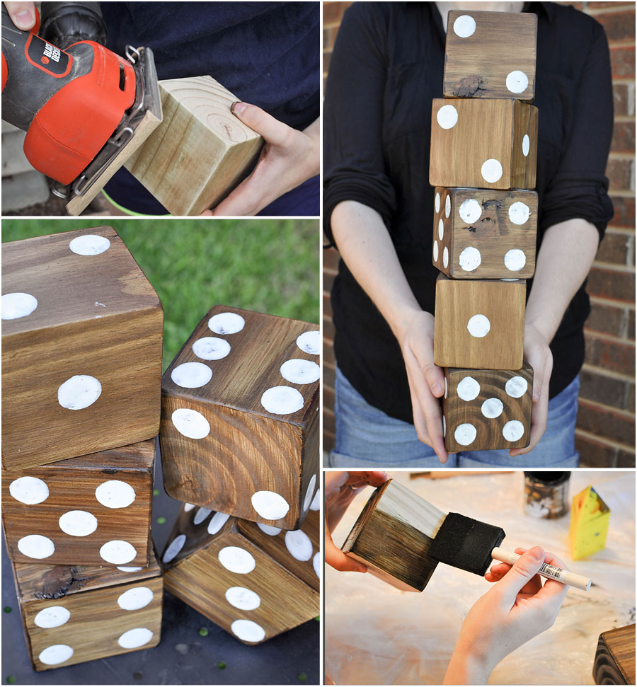 DIY Yard Games - Megan Harney for Dallas Moms Blog Dice 2