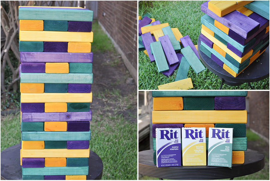 DIY Yard Games - Megan Harney for Dallas Moms Blog Jenga 2