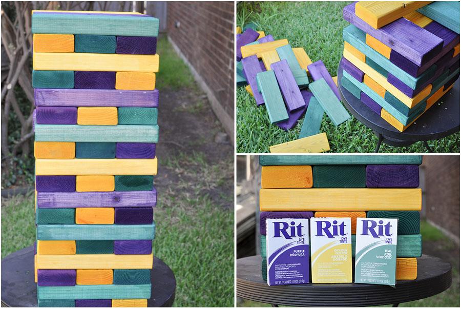 DIY Yard Games - Megan Harney for Dallas Moms Blog Jenga 2
