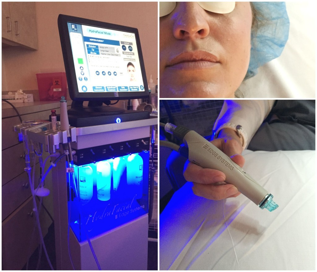 HydraFacial Collage