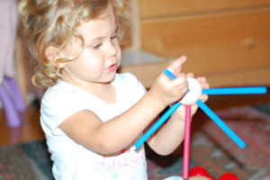 tinker toys make a wonderful creative toy for children