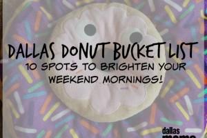 Dallas Donut Bucket List