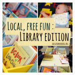 Local, Free Dallas Fun:  Library Edition