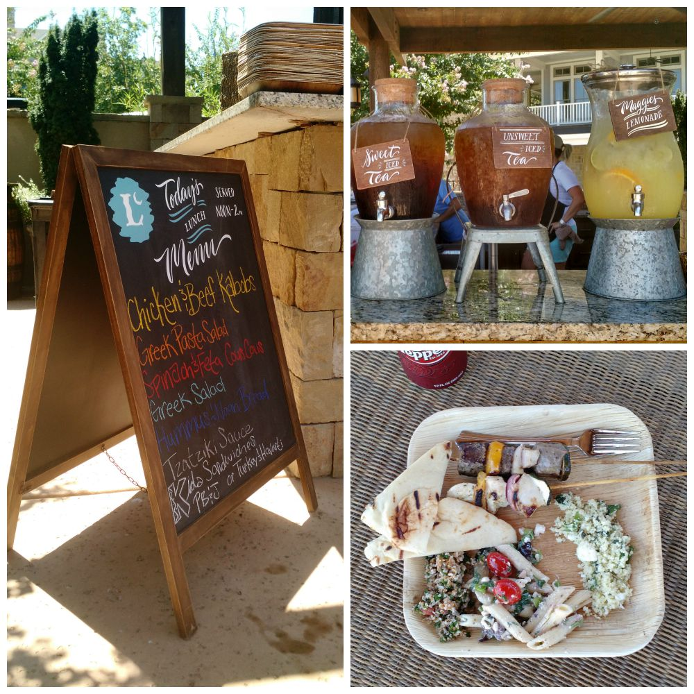 Long Cove Food Collage