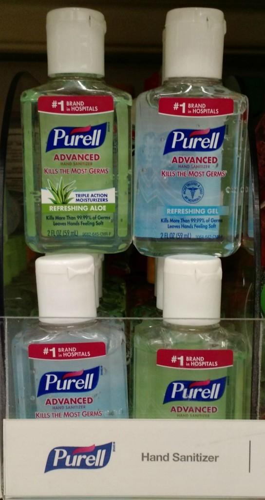 PURELL Advanced Hand Sanitizer Flip Top DallasMomsBlog