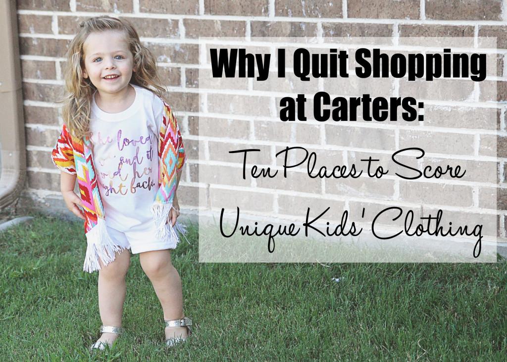 b8bda18c1 Why I Quit Shopping at Carter's