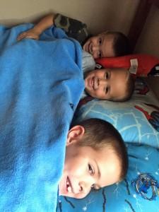 Three boys 1 room 1