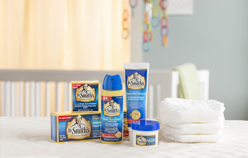 Dr. Smith's Diaper Rash Ointment and Spray Family Photo[2] (1)
