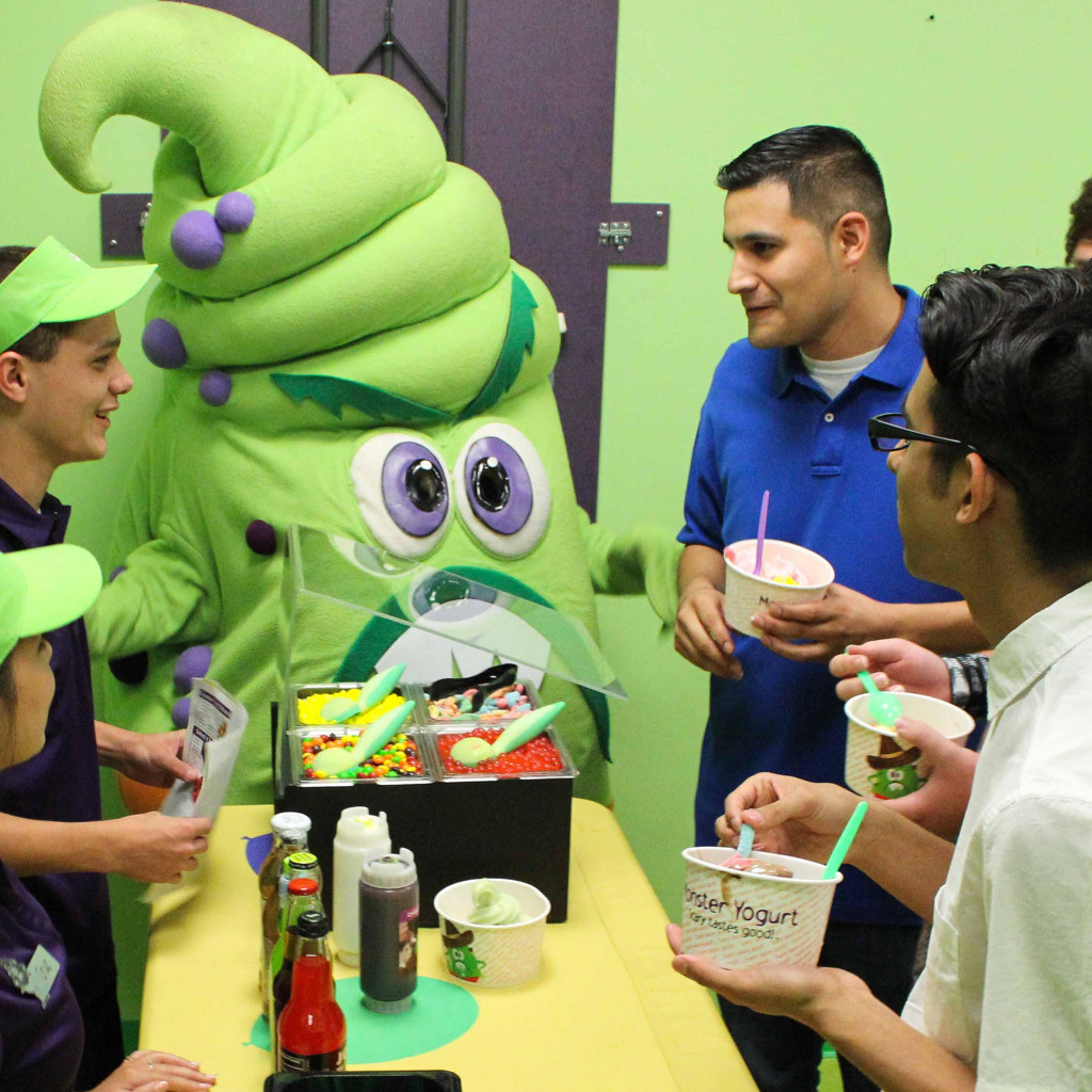 Monster Yogurt Catering
