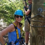 Dallas Adventures: Zip Line in the Great Trinity Forest
