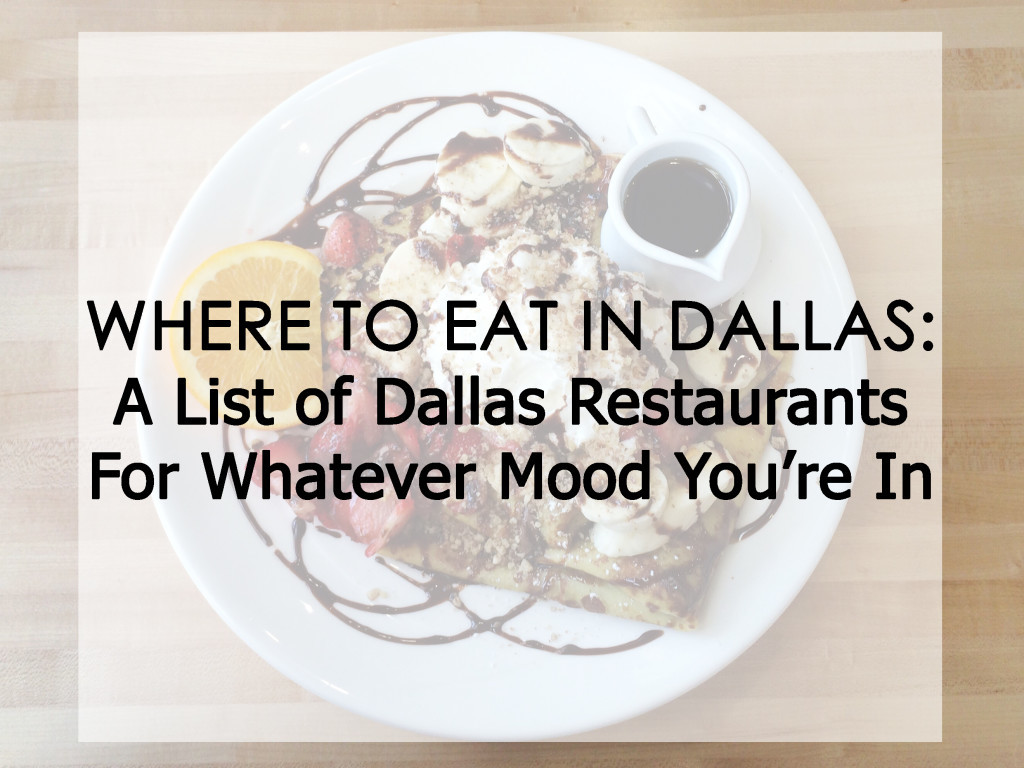 Dallas restaurants