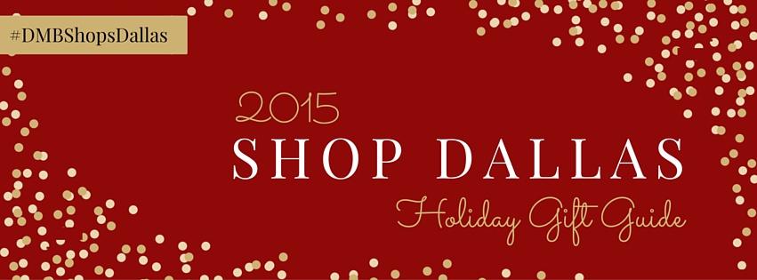 shopDallas 2015 Facebook Header
