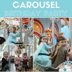 A Carousel Birthday Party :: Indoor, Easy and Fun