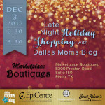 Late Night Holiday Shopping with Marketplace Boutiques :: Tickets on Sale Now!