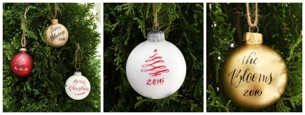 Design Roots ornament dallas moms blog - Christmas Ornaments And Calligraphy :: Design Roots