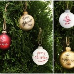 Christmas Ornaments and Calligraphy :: Design Roots