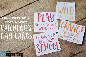 Free Printable Non-Candy Punny Valentines | Megan Harney