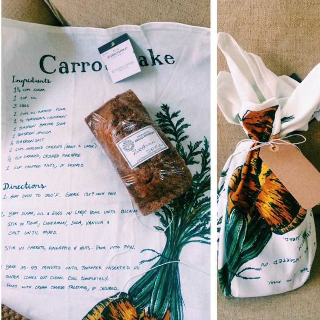 target flour sack, breadwinners, gourmet gift, last minute gift