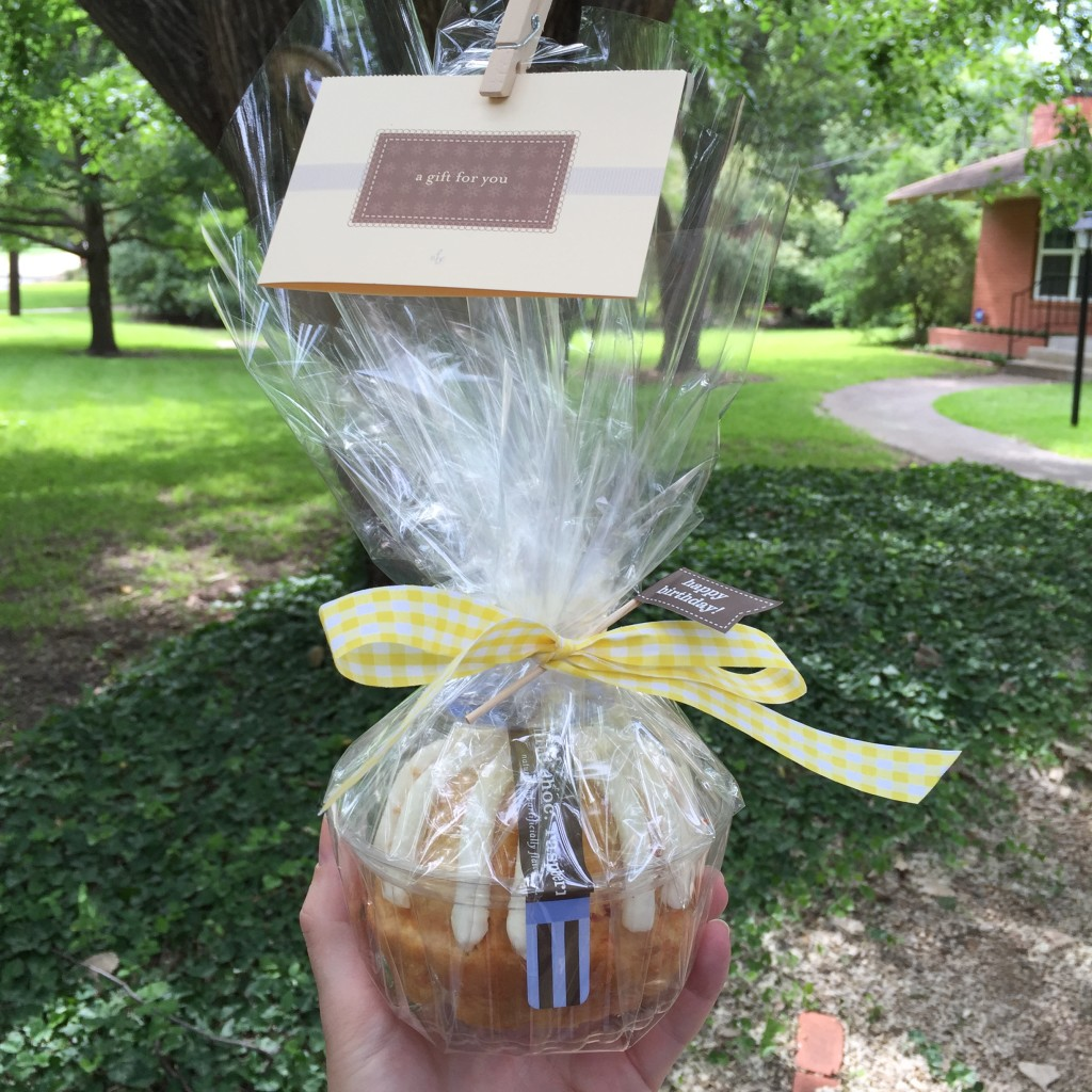 teacher gift, nothing bundt cakes, dallas, gift idea