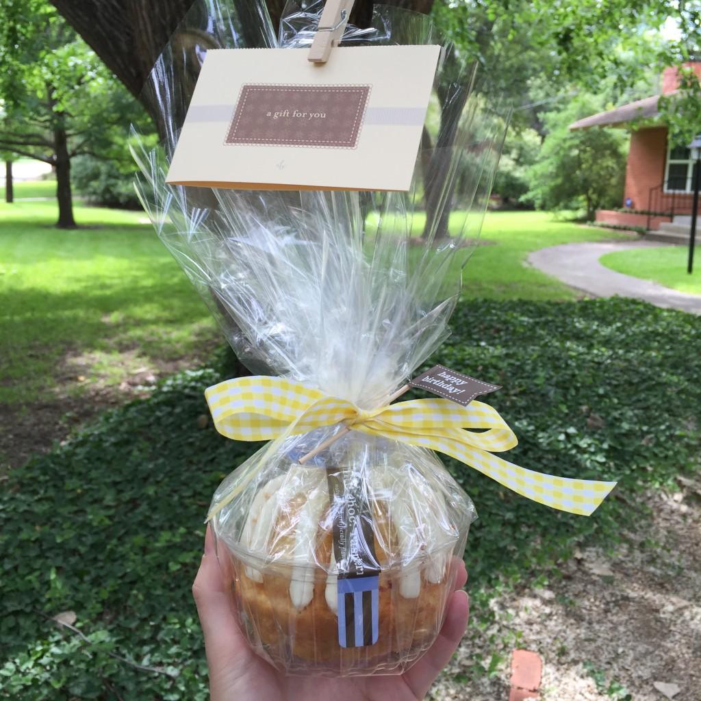 teacher gift, nothing bundt cakes, dallas, gift idea