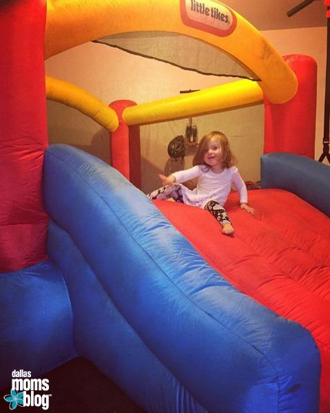 Indoor Bounce House Dallas Moms Blog