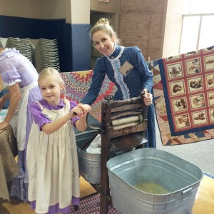living history day, pioneer day, classical school, classical education, dallas moms blog
