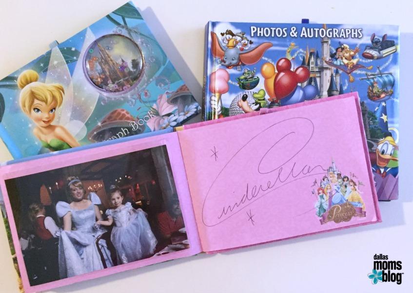 Autograph Books Disneyworld Dallas Moms Blog