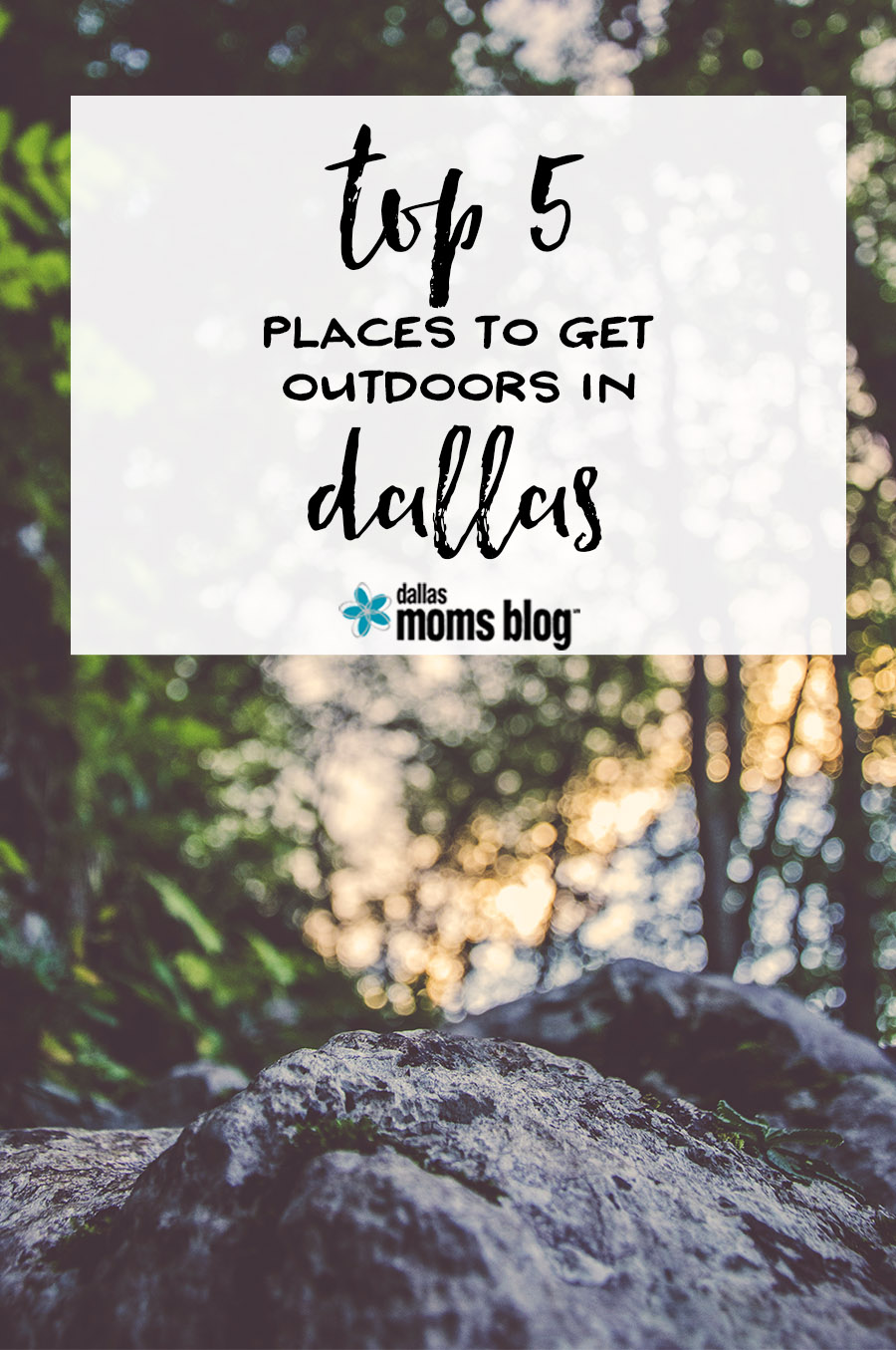 Best Places to Get Outdoors in Dallas | Dallas Moms Blog