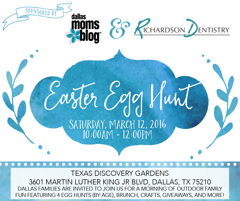 Easter Egg Hunt Featured Image with Sponsors