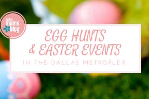 Featured Slide - Dallas Moms Blog Egg Hunts
