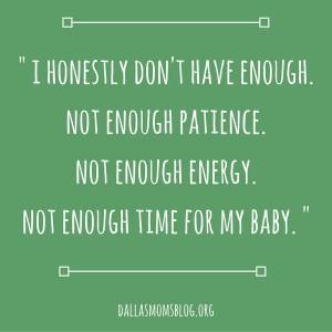 Motherhood Not Enough