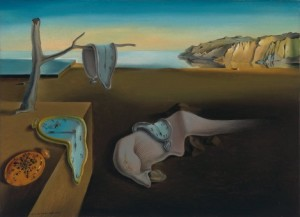 Did I really just waste an hour looking at my high school frenemy's Facebook page? The Persistence of Memory by Salvador Dali (c/o moma.org)