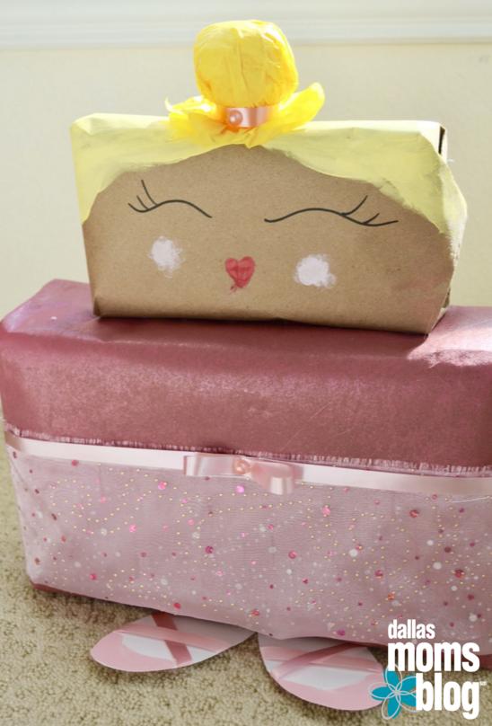{Fun, Yum & Frills} Ballerina Diaper Wrapping