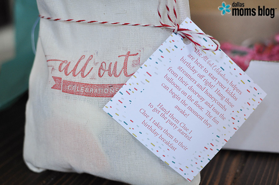 All Out Celebrations Birthday Morning Kit   Dallas Moms Blog