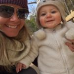 What I did instead of working on your baby book:  A love note to my one year old
