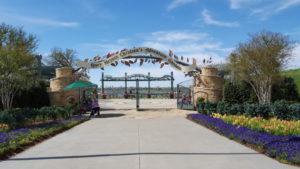 Entrance to the Children's Garden at the Dallas Arboretum
