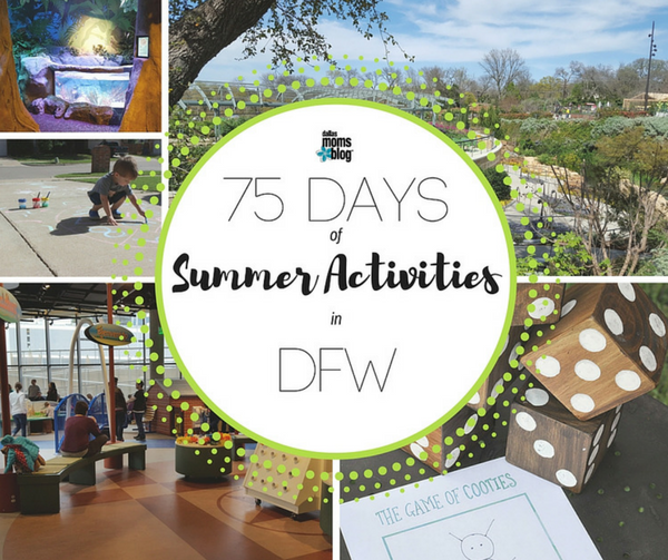 75 Days of Summer Featured Slide Dallas Moms Blog