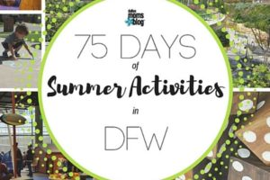 Featured Slide - 75 Days of Summer - Dallas Moms Blog