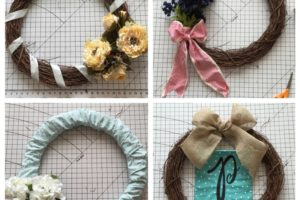Four wreath ideas for the non crafter